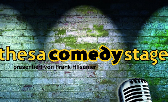 Thesa Comedy Stage mit Frank Hilsamer